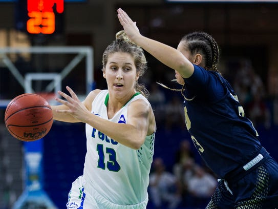 Florida Gulf Coast University senior, Jordin Alexander,