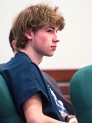 Jack Sawyer appears in Vermont Superior Court in Rutland