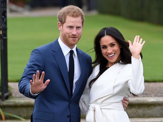 The wedding of Prince Harry and Meghan Markle takes place beginning at 7 a.m. Saturday Eastern time, at St. George's Chapel at Windsor Castle in England. Royal wedding fans have planned viewing parties.