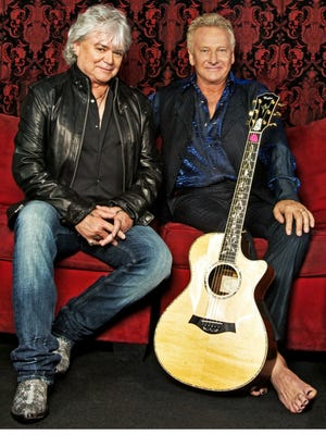 Russell Hitchcock (left) and Graham Russell form the duo Air Supply.