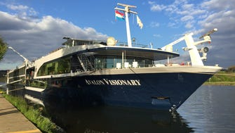 The 128-passenger Avalon Visionary is one of river line Avalon Waterways' 16 vessels in Europe.