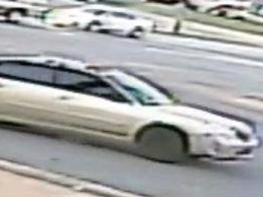 Police released this image of one of three vehicles suspected in the drive-by shooting that killed 10-year-old Richard Jordan on Monday, November 13, 2017.