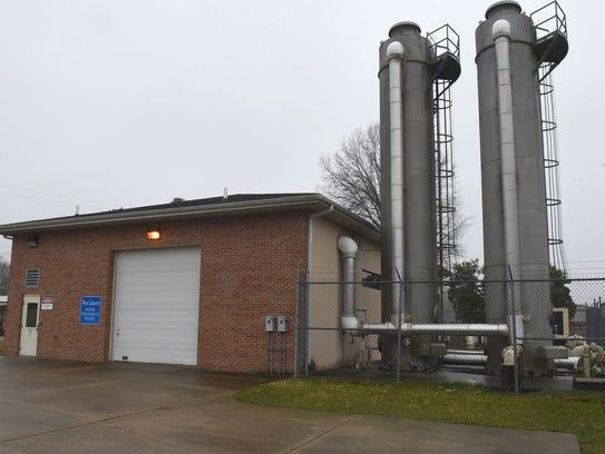 The West Lafayette Water Treatment Plant. The Village