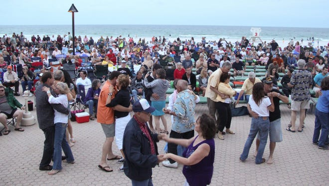 Bands on the Beach is at 7 p.m. today at the Gulfside Pavilion, Casino Beach Blvd., Pensacola Beach. Spectators are encouraged to bring lawn chairs and blankets.