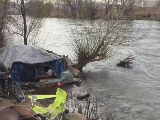 Truckee River in Reno