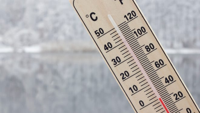 Hypothermia is an abnormally low body temperature brought on by staying in cold temperatures for a long period of time.