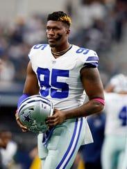 Dallas Cowboys defensive tackle David Irving (95)