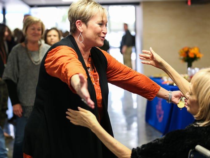 Pattie Griffin, SAISD director of Human Resources,