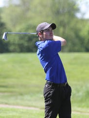 Salem's Jack McCarthy takes aim with an iron at the