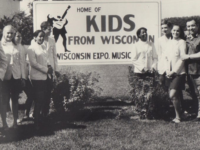 The original 1969 Kids from Wisconsin pose at State