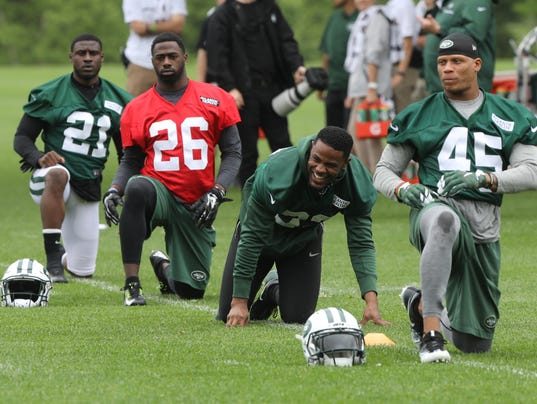 New York Jets -- OTA's --