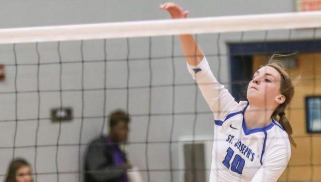 St. Joseph's sophomore Allison Whitten has been named a 2015 PrepVolleyball.com High School All-American.