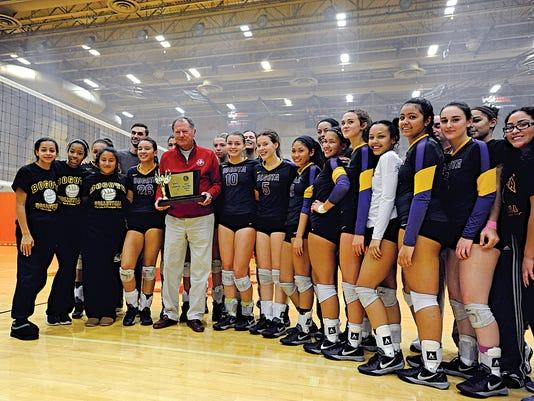 NJSIAA high school girls volleyball championships
