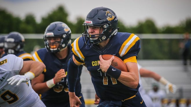 Tiverton's Stephen Gacioch has made the move to URI after football was cancelled at UMass Dartmouth.