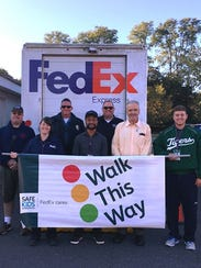 International Walk to School Day saw Dunellen students