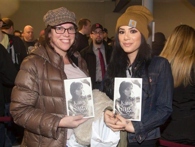 Louise Monroe, Alyne Halvajian. Katey Sagal greeted