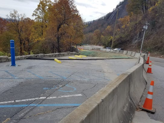 State DOT and engineers have fixed a retaining wall