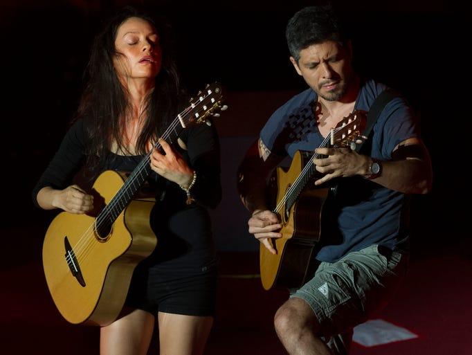 Rodrigo y Gabriela perform at Ryman Auditorium on Friday, August 8, 2014, in Nashville.