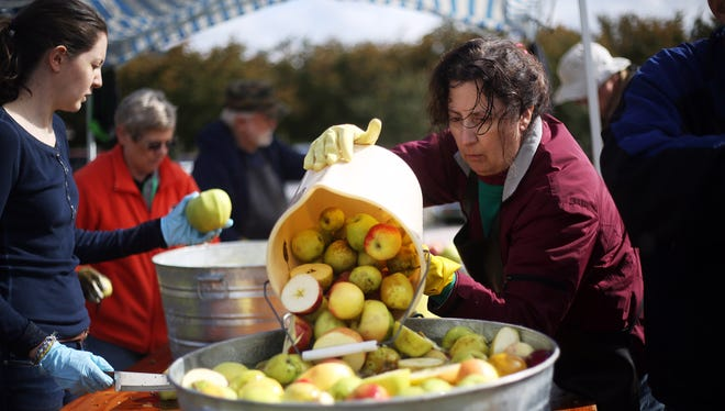 Apples will be celebrated at the Polk County Historical Society's Brunk House Apple Festival 10 a.m. to 3 p.m. Saturday, Sept. 24.