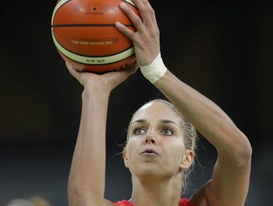 USP OLYMPICS: BASKETBALL-WOMEN'S TEAM-PRELIMINARY S OLY BRA
