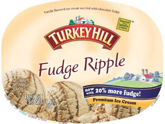 Turkey Hill Fudge Ripple from Kroger in Louisville.