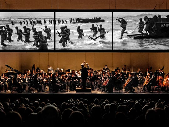 """World War II photochoreography from Westwater Arts will be displayed as the Phoenix Symphony performs Samuel Barber's Second Essay for Orchestra, """"Adagio for Strings,"""" in """"Tribute to the Brave"""" performances Oct. 2, 3 and 4."""