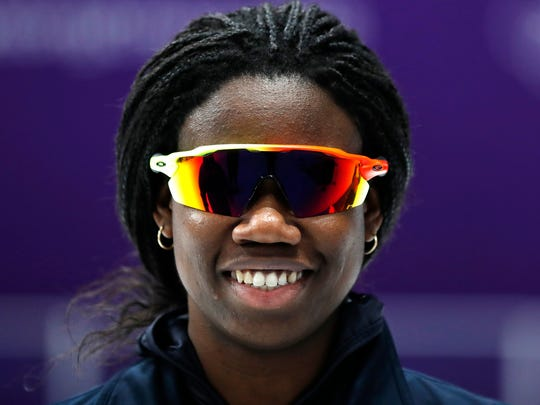 Erin Jackson, of Ocala, Fla., spent five months training for these Olympics after mostly competing in inline skating.