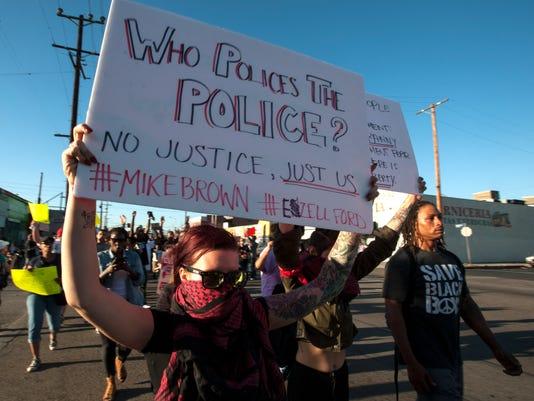Police Shooting Vigil
