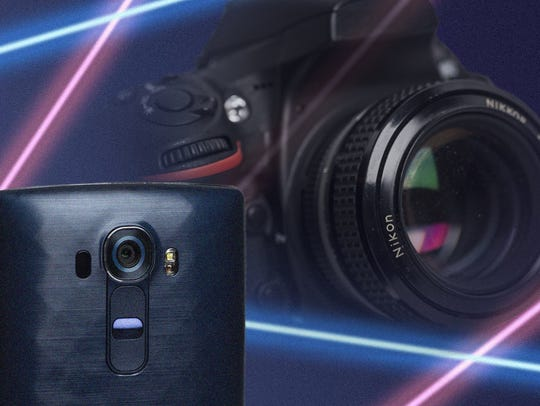 Oh, and by the way: The G4's camera is laser-assisted.