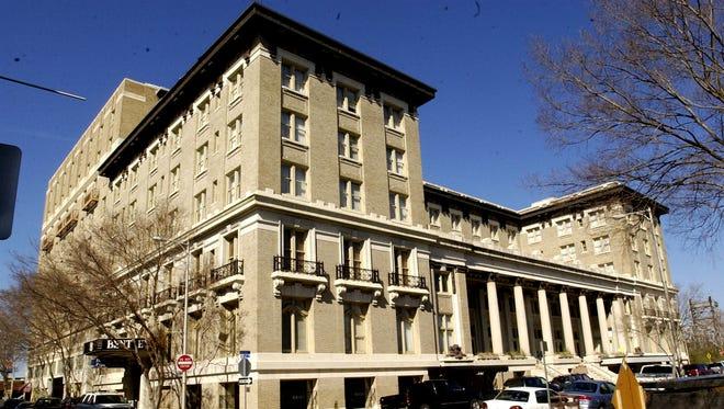 The Hotel Bentley in downtown Alexandria.