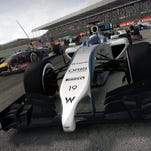 """New aerodynamics and turbo-charged engines enter the fray in """"F1 2014."""""""