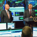 On Friday, Obama will announce initiatives to form organizations that will gather, share and analyze information, as well as ease access to cybersecurity threat information for corporate entities.
