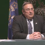 Governor Paul LePage continued his town hall campaign Wednesday night in Bangor to explain and draw support for his proposed two-year budget.