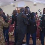 Grand Prairie church honors soldiers