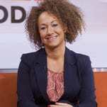 "In this image released by NBC News, former NAACP leader Rachel Dolezal appears on the ""Today"" show set on Tuesday, June 16, 2015, in New York. Dolezal was born to two parents who say they are white, but she chooses instead to self-identify as black."