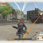 Protagonists Welkin Gunther and Alicia Melchiott in Valkyria Chronicles Remastered Remastered.