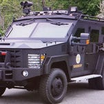 Mine Resistant Ambush Protected (MRAP) armored vehicle