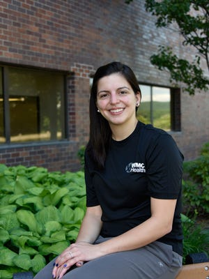 Laura Santiago, RN, will be running in the New York City Marathon in support of patients at MidHudson Regional Hospital.