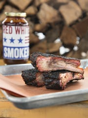 Ribs at Red, White & Que
