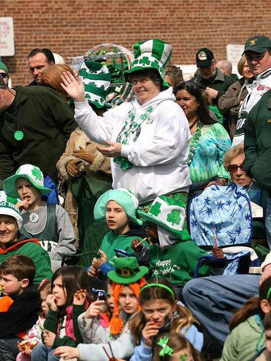 Morristown St. Patrick's Day Parade