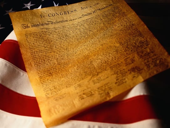 The Declaration of Independence set out some guidelines