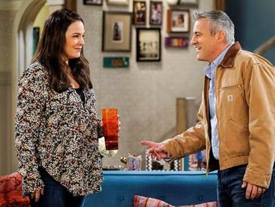 Liza Snyder and Matt LeBlanc star in CBS sitcom 'Man