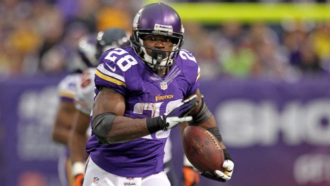 Vikings RB Adrian Peterson was the NFL's MVP in 2012.