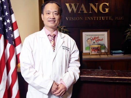 Dr. Ming Wang photographed at his office Friday January