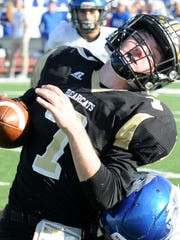 Gunter's path to the Class 3A Division II state championship was filled with ties to the Wichita Falls area, including playoff wins against Henrietta and Jacksboro and a state semifinal game at Memorial Stadium.