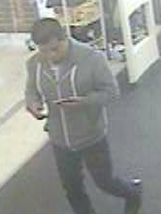 Santa Paula police ask for the public's help in identifying sexual battery suspect.
