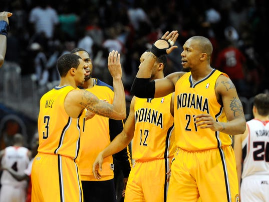 2014-4-26 Pacers celebrate