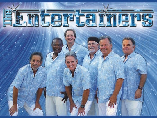 The Entertainers perform at the Buena Vista Beach Music Festival at Glen Maury Park on July 30.