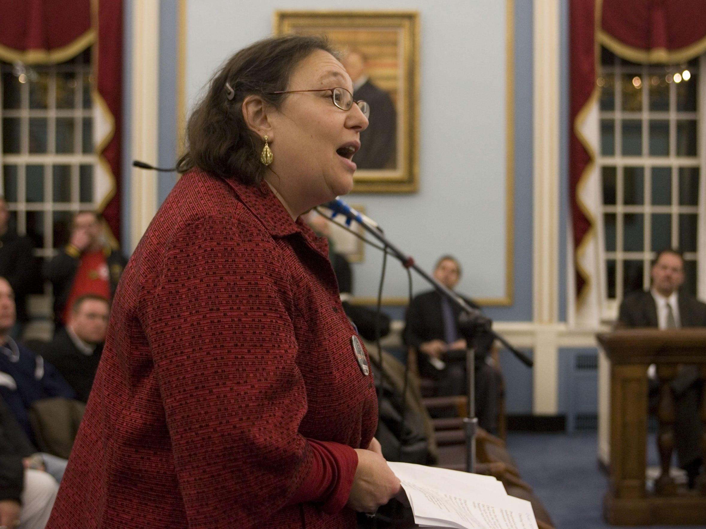 Hetty Rosenstein, NJ Area Director Communications Workers