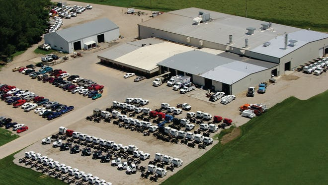 Maintainer's Sheldon manufacturing plant before a planned expansion is shown in this aerial photo. The Sheldon-based company announced plans to add 17,750 square feet of manufacturing space on Wednesday June 4.